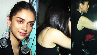 Aditi Rao Hydari Exposing H0t At Screening Of Tamil Film Kaatru Veliyidai