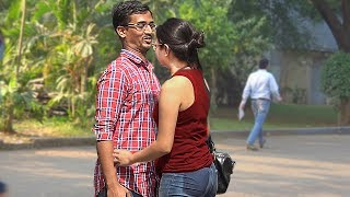 Kissing Prank India - Getting Kiss/Hug From Strangers