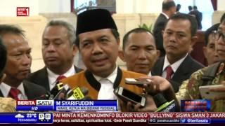 Presiden Lantik Wakil MA Bidang Yudisial