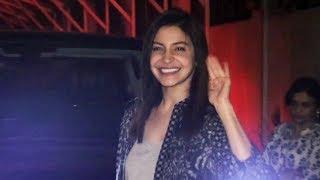Anushka Sharma SPOTTED At B Blunt Salon