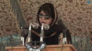 Kashmiris worst sufferers of Indo-Pak hostility- Mehbooba