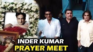Bollywood Celebs At Inder Kumar's Prayer Meet