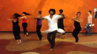 Kahe Ched Mohe (Devesh Mirchandani) Devdas - Workshop in Cali, Colombia