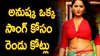 అనుష్క ఐటెమ్ సాంగ్ కోసం రెండు కోట్లు - Anushka Shetty Clarity on Item song in Mahesh Babu Movie