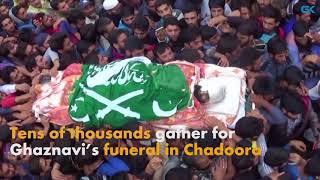 Tens of thousands gather for Ghaznavi's funeral in Chadoora