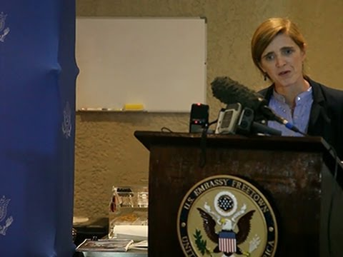 Power- US 'Will Defeat Ebola at Its Source' News Video
