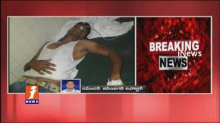 Man Commits Suicide infront of KCR Convoy | Karimnagar | iNews
