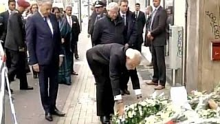 PM Modi pays tributes to Brussels terror attack victims - News Video