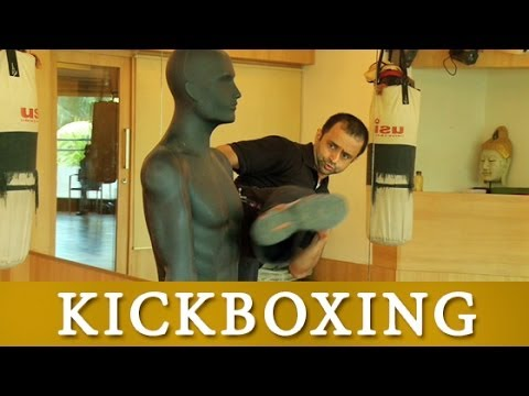 Swing Kick With Target Area Self Defence Training Video Tutorial