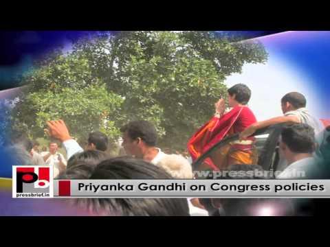 Progressive and charismatic Congress leader Priyanka Gandhi