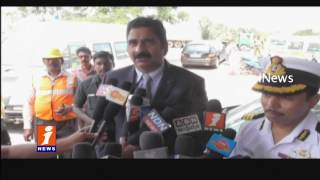 Coast Guard Helpline at Krishnapatnam Port | Nellore | iNews