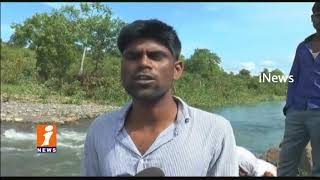 3 Youths Missing In Flood Water In Surya Naik Tanda | 2 Safe And 1 Missing | Sangareddy | iNews