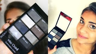 Easy Smokey Eye Makeup for Beginners | Miss Claire Smokey Eyeshadow Palette Review