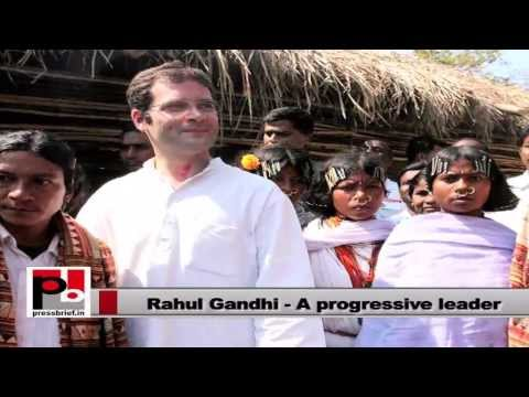 Rahul Gandhi- A leader for the common man, with the common man