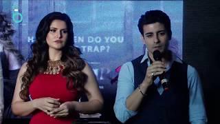 Reporter Trolls Gautam Rode On Romancing With Zareen Khan - Aksar 2 New Trailer