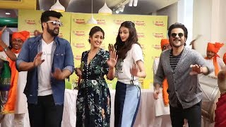 The Goggle Song Launch | DHOL Tasha Entry | Mubarakan | Anil Kapoor, Arjun Kapoor, Ileana, Athiya