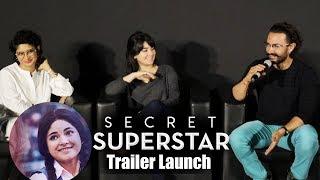 Secret Superstar Trailer Launch | Aamir Khan, Zaira Wasim, Kiran Rao