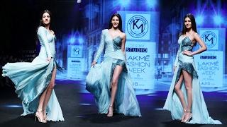 Stunning Amyra Dastur WALKS The Ramp At Lakme Fashion Week 2017