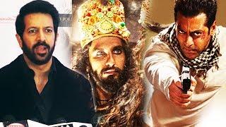 Kabir Khan PRAISES Ranveer's Look In Padmavati, Tiger Zinda Hai Teaser To Be Out On Diwali