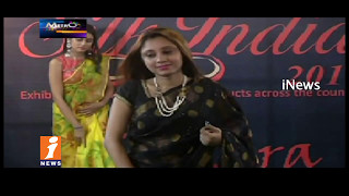 Silk India Expo Fashion Show In Hyderabad | Exhibition Cum Sale | Metro Colours | iNews