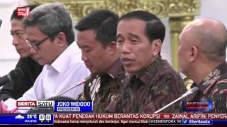 Presiden Jokowi Berkomitmen Mereformasi Sepakbola Nasional