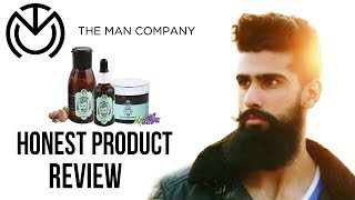 THE MAN COMPANY BEARD PRODUCTS REVIEW - Beard Wash,  Beard Oil and Beard Wax