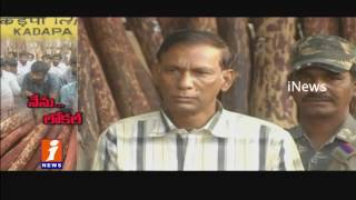 Local Red Sandalwood Smugglers Cheats Non Local Smugglers In Kadapa | iNews