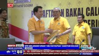 KPK Larang Iuran Rp 1 Miliar untuk Caketum Golkar