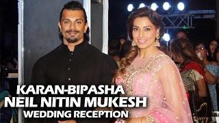 Karan Singh Grover & Bipasha Basu At Neil Nitin Mukesh's Wedding Reception