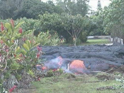 'Sluggish' Lava Continues Creep Towards Town News Video