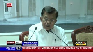 JK: Defisit Neraca Perdagangan Akibat Pelemahan Harga Komoditas