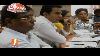 Grater Corporators Pout For Not Get KTR Appointment | Loguttu | iNews