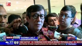Menteri Yasonna Kantongi Hasil Otopsi Napi Tewas di Lapas