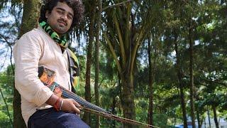 'Kannukku Mai Azhaku' Abhijith P S Nair Violin fusion Cover (A.R. Rahman cover)