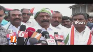AP PCC Chief Raghuveera Reddy Rally With Farmers On Faremrs Problems In Anantsaapur | iNews