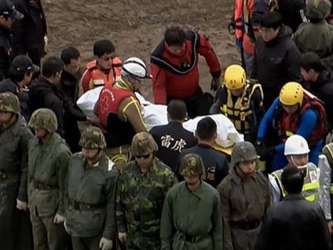 Raw- Bodies Discovered at TransAsia Crash Site News Video