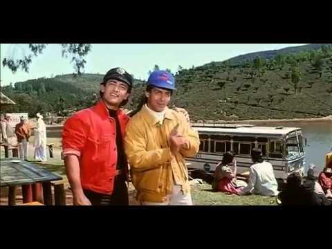 Aamir and Salman drink tea - Andaz Apna Apna - Bollywood Movie Comedy Scene