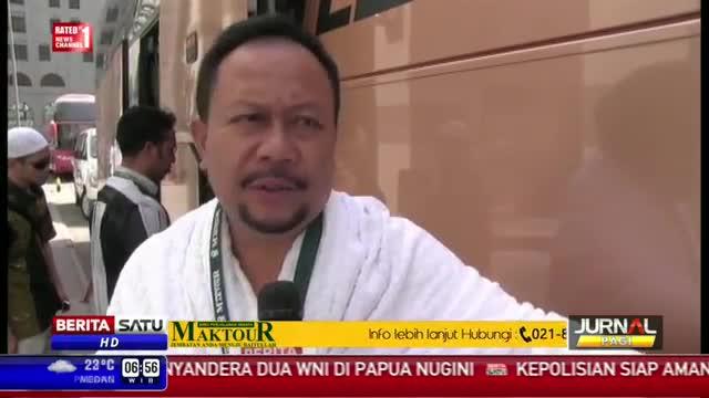 Jelang Puncak Haji, Para Jemaah Haji Bertolak ke Mekkah