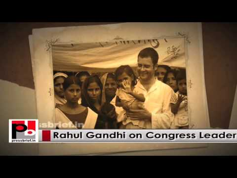 Congress VP Rahul Gandhi - a committed leader with modern vision