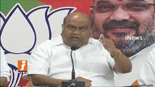 BJP Leader Nagam janardhan Reddy Fires On TRS Govt | iNews
