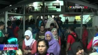 17.000 Pejalan Kaki Dominasi Pelabuhan Merak