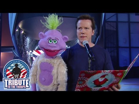 Jeff Dunham meets Big Show- Tribute to the Troops 2013 - WWE Wrestling Video