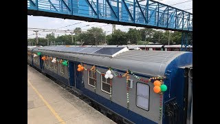 Indian Railways launches first solar-powered DEMU train | Economic Times
