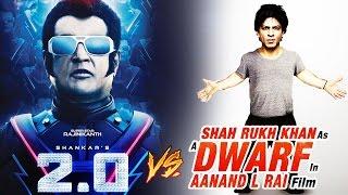 Rajinikanth Gives Tough Competition To Shahrukh's DWARF FILM
