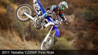 Yamaha YZ250F First Ride Video