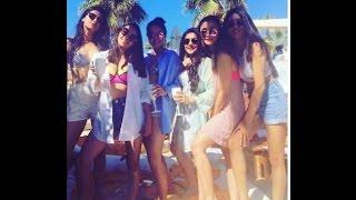 Alia Bhatt enjoying in pool with gang
