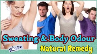 Excessive Sweating & Body Odour | Natural Home Remedy | Body Acne Remedy | JSuper Kaur