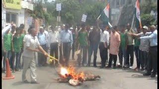 पाकिस्तान की बर्बरता के खिलाफ पूर्व सैनिकों का प्रदर्शन