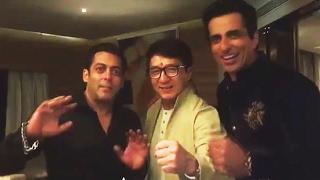 Salman Khan PROMOTES Kung Fu Yoga | Hindi Chini Bhai Bhai | Jackie Chan, Sonu Sood