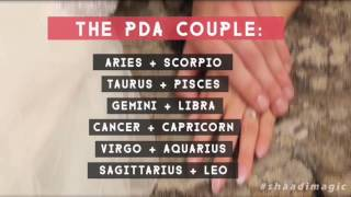 What Kind Of Couple Are You According To Your Sunsign